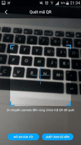 Quét Mã QR Code trên máy tính