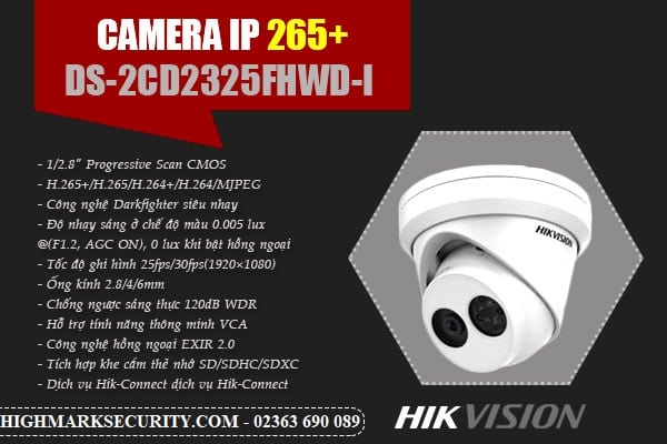 Camera quan sát DS-2CD2325FHWD-I