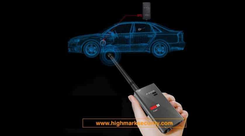 Công cụ dò tìm thiết bị định vị trên xe