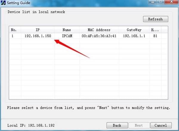 Hack Pass Camera IP SmartZ