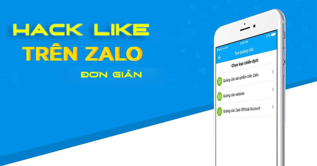 Hack like Zalo
