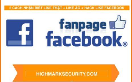 Cách Nhận Biết Like Thật, Like Ảo + Hack Like Facebook