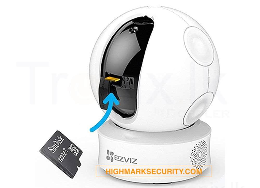 Cách lắp thẻ nhớ camera wifi ezviz CS-CV246