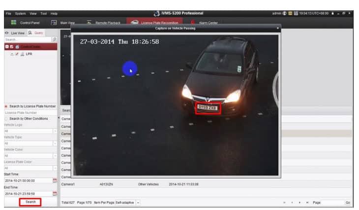 Camera ANPR nhận diện biển số thông minh