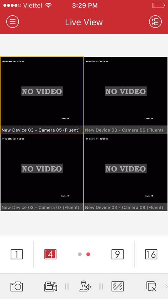 Lỗi No Video Hikvision