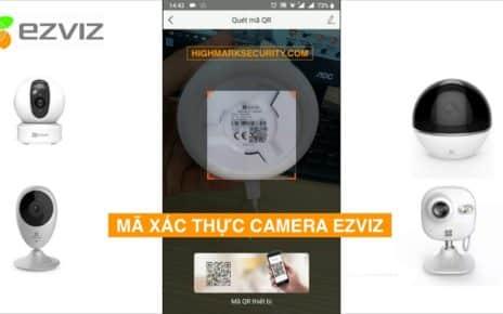 Mã Xác Nhận Thiết Bị Camera Ezviz