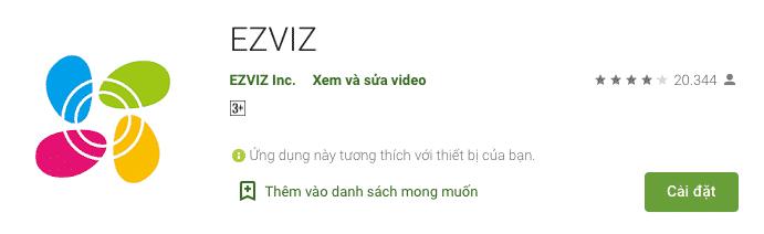Tải phần mềm Ezviz - Ứng dụng trên Google Play