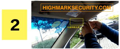 Dấu dây phần cửa xe ô tô