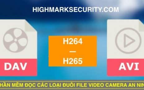 Phần Mềm Đọc Đuôi File Video Camera