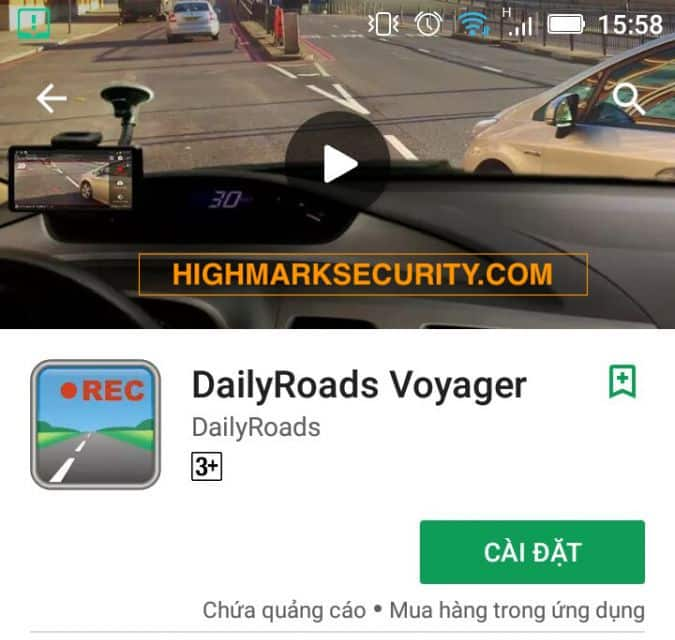 Ứng dụng App daily voyager