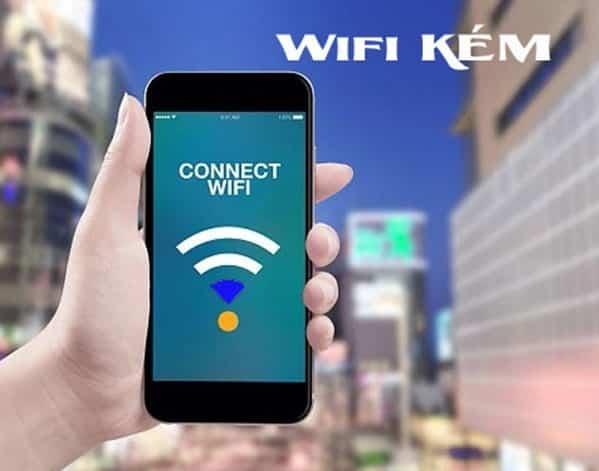 Wifi kém