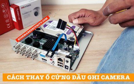 Thay Ổ Cứng Cho Đầu Ghi Camera An Ninh